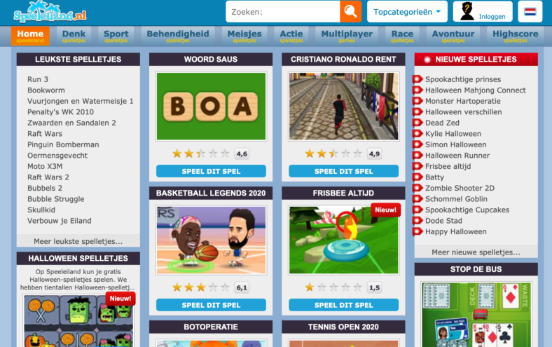 Speeleiland screenshot