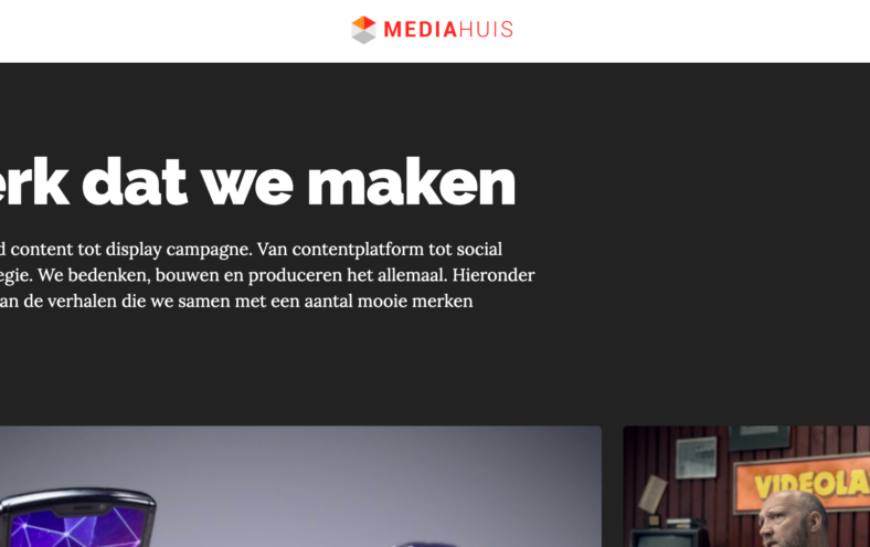 screenshot mediahuis