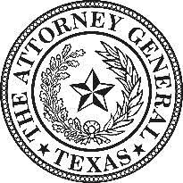 logo attorney general texas