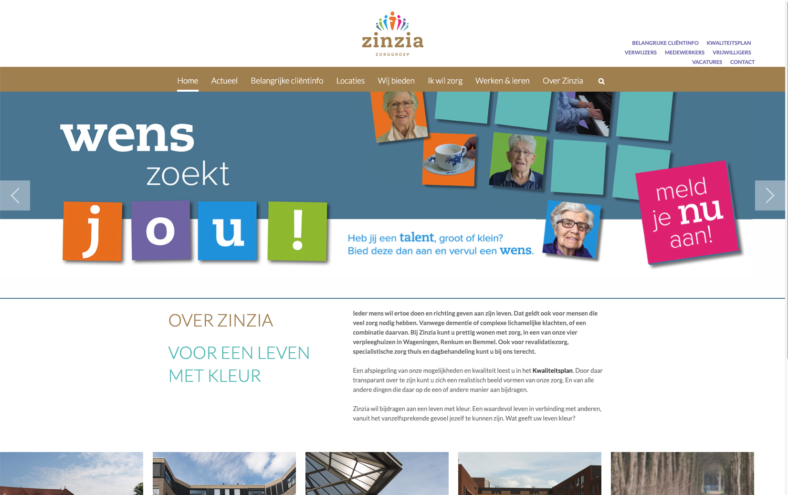 zinzia screenshot